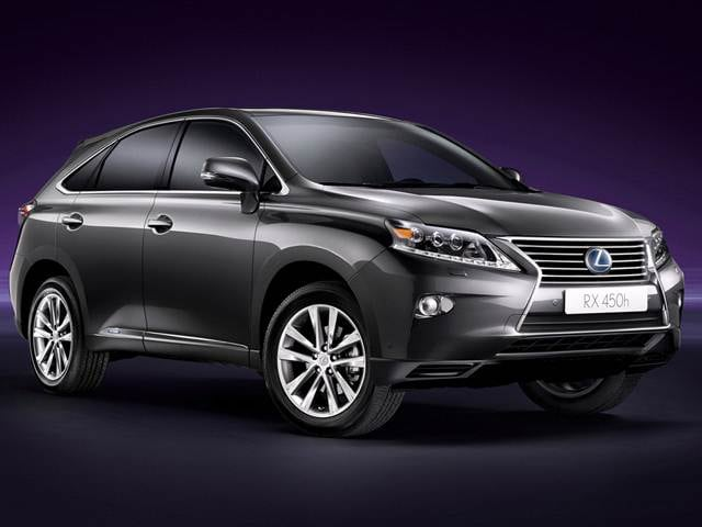 Best Safety Rated SUVS of 2013 - 2013 Lexus RX