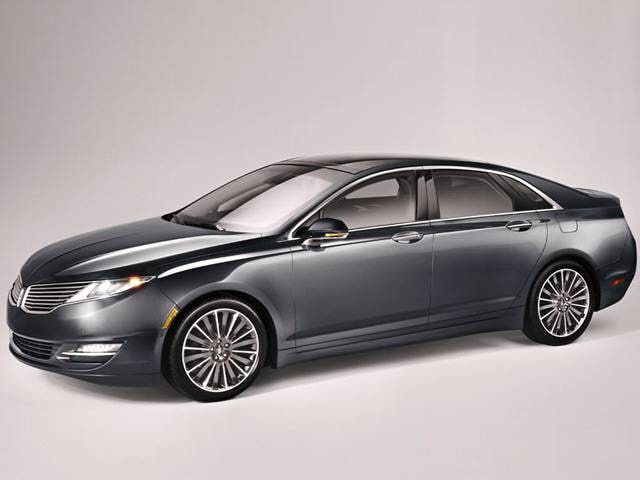 Most Fuel Efficient Luxury Vehicles of 2013 - 2013 Lincoln MKZ
