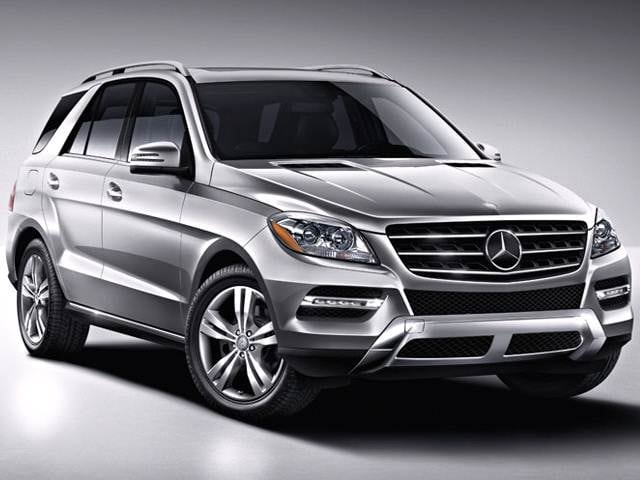 Highest Horsepower SUVS of 2013 - 2013 Mercedes-Benz M-Class