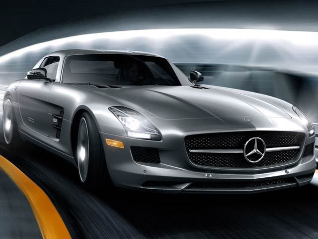 Top Consumer Rated Coupes of 2013 - 2013 Mercedes-Benz SLS-Class