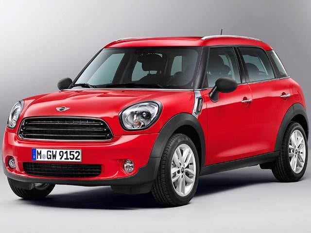 Most Fuel Efficient Wagons of 2013 - 2013 MINI Countryman