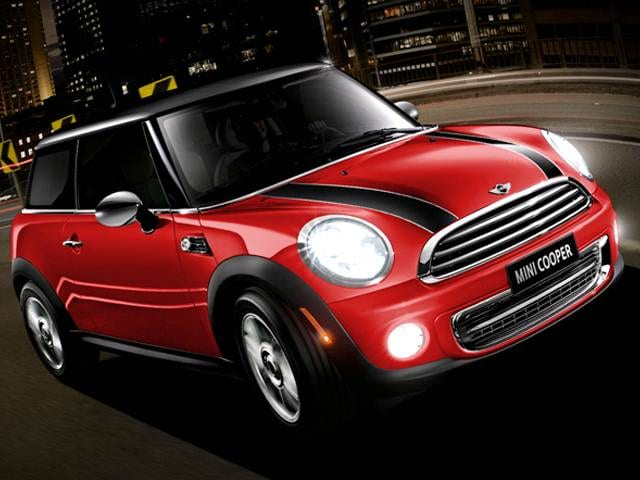 Most Fuel Efficient Coupes of 2013 - 2013 MINI Hardtop