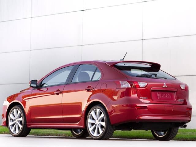 Most Popular Hatchbacks of 2013 - 2013 Mitsubishi Lancer