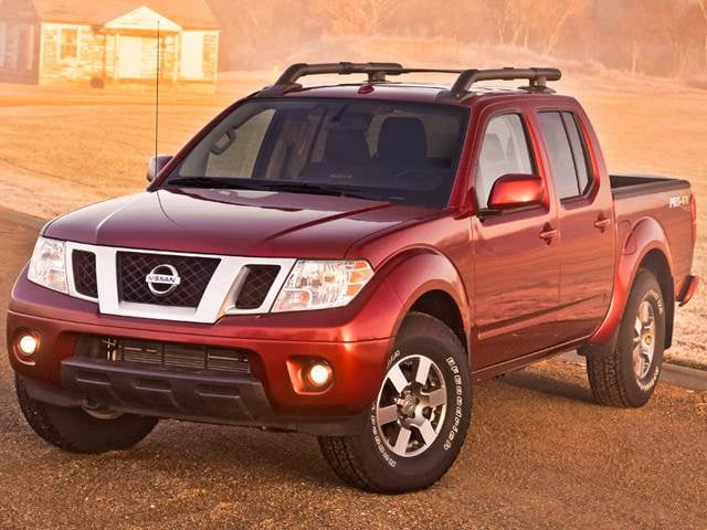 Most Fuel Efficient Trucks of 2013 - 2013 Nissan Frontier Crew Cab