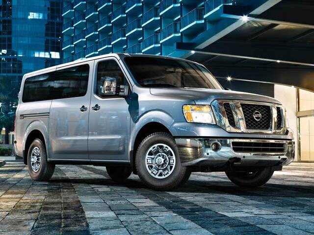 Highest Horsepower Van/Minivans of 2013 - 2013 Nissan NV3500 HD Passenger