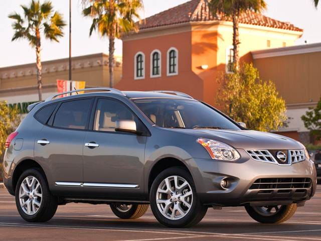 Most Popular Crossovers of 2013 - 2013 Nissan Rogue