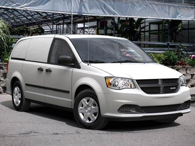 Most Fuel Efficient Van/Minivans of 2013 - 2013 Ram C/V Tradesman