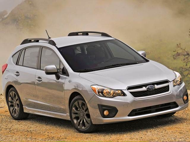 Most Fuel Efficient Wagons of 2013 - 2013 Subaru Impreza
