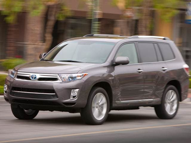Most Fuel Efficient SUVS of 2013 - 2013 Toyota Highlander