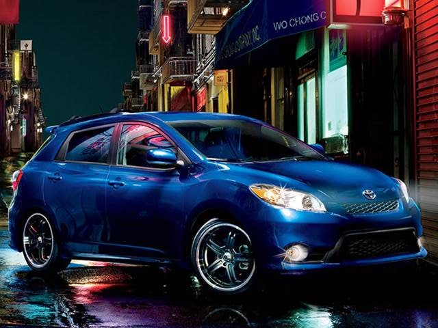 Most Fuel Efficient Wagons of 2013 - 2013 Toyota Matrix