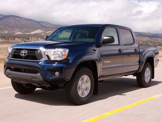 Most Fuel Efficient Trucks of 2013 - 2013 Toyota Tacoma Double Cab