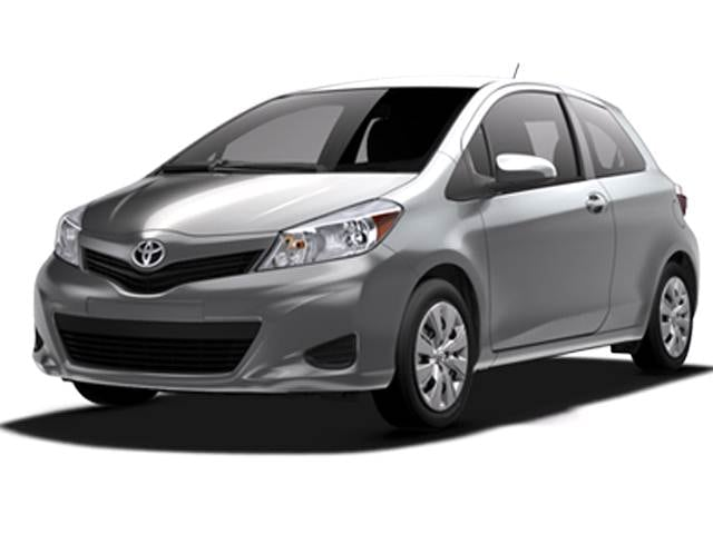 Most Fuel Efficient Coupes of 2013 - 2013 Toyota Yaris