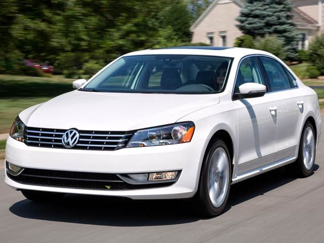 Best Safety Rated Sedans of 2013 - 2013 Volkswagen Passat