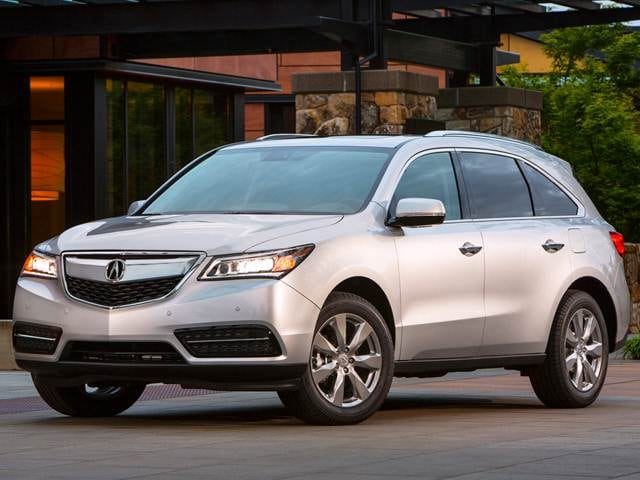 Best Safety Rated SUVS of 2014 - 2014 Acura MDX