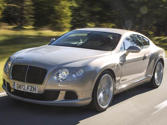 Top Consumer Rated Coupes of 2014 - 2014 Bentley Continental