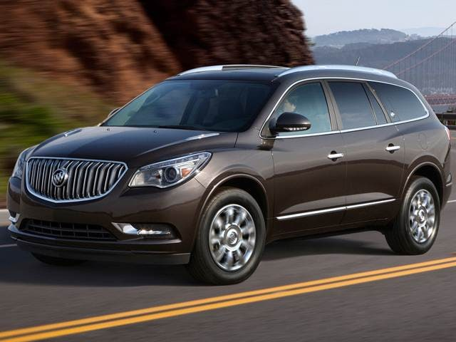 Most Popular Luxury Vehicles of 2014 - 2014 Buick Enclave
