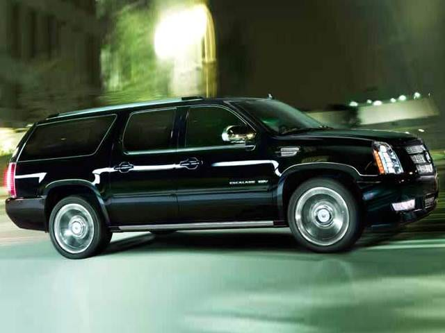 Most Popular Luxury Vehicles of 2014 - 2014 Cadillac Escalade ESV