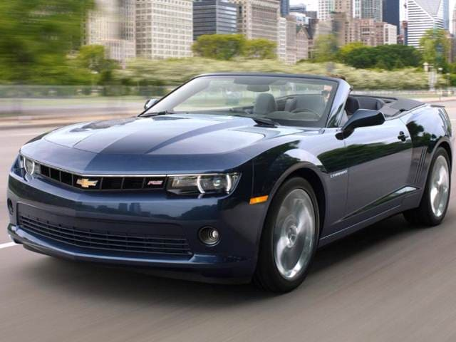Most Popular Convertibles of 2014 - 2014 Chevrolet Camaro