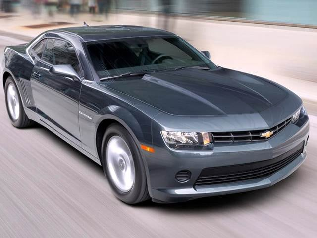 Most Popular Coupes of 2014 - 2014 Chevrolet Camaro