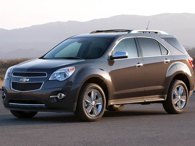Most Popular SUVS of 2014 - 2014 Chevrolet Equinox