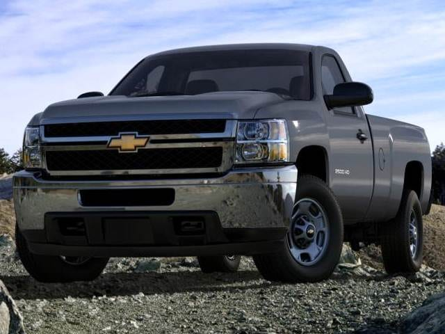 Most Popular Trucks of 2014 - 2014 Chevrolet Silverado 2500 HD Regular Cab