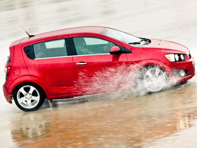 Best Safety Rated Hatchbacks of 2014 - 2014 Chevrolet Sonic