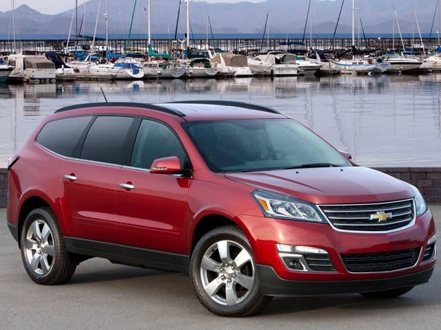 Best Safety Rated SUVS of 2014 - 2014 Chevrolet Traverse