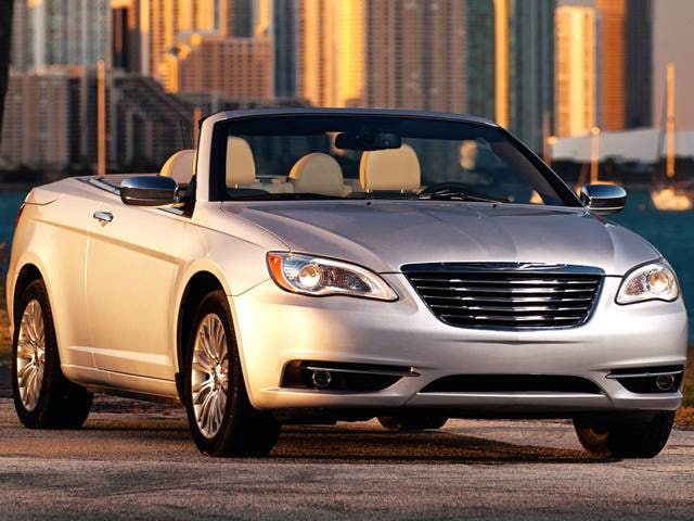 Most Popular Convertibles of 2014 - 2014 Chrysler 200