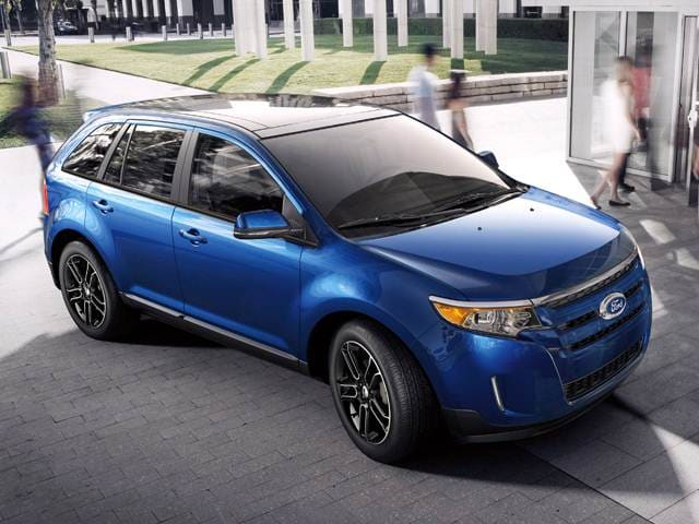Most Popular SUVS of 2014 - 2014 Ford Edge