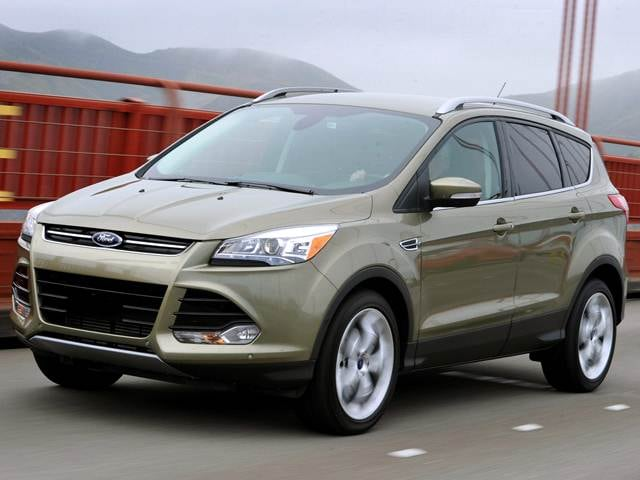 Top Expert Rated Crossovers of 2014 - 2014 Ford Escape