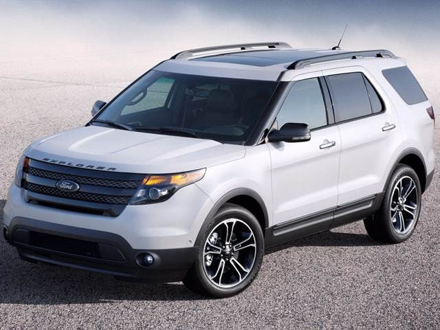 Highest Horsepower Crossovers of 2014 - 2014 Ford Explorer