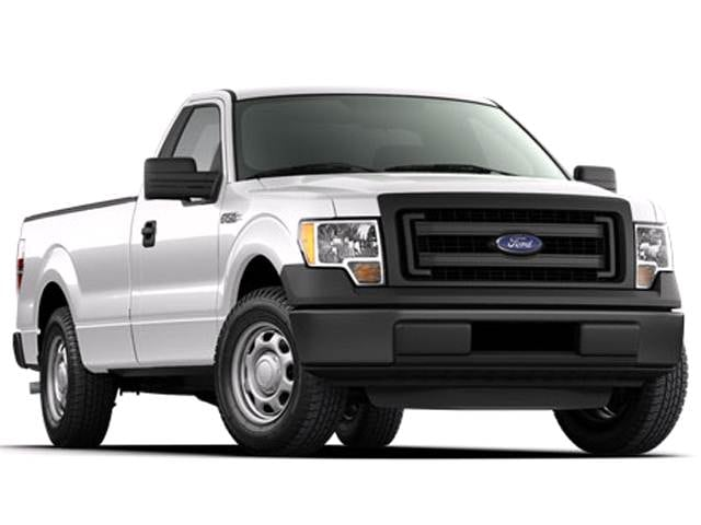 Most Popular Trucks of 2014 - 2014 Ford F150 Regular Cab