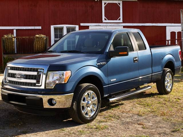 Most Popular Trucks of 2014 - 2014 Ford F150 Super Cab