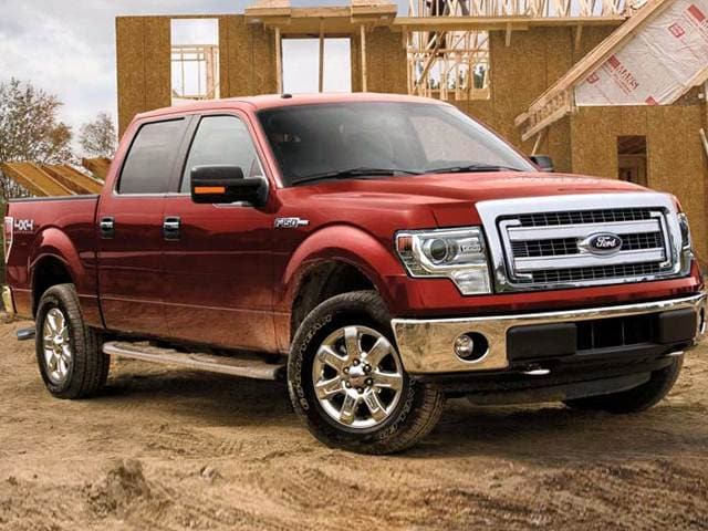 Most Popular Trucks of 2014 - 2014 Ford F150 SuperCrew Cab