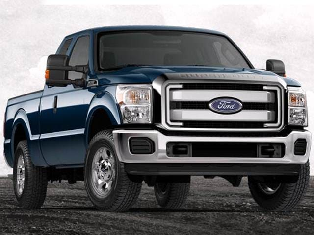 Top Consumer Rated Trucks of 2014 - 2014 Ford F450 Super Duty Crew Cab