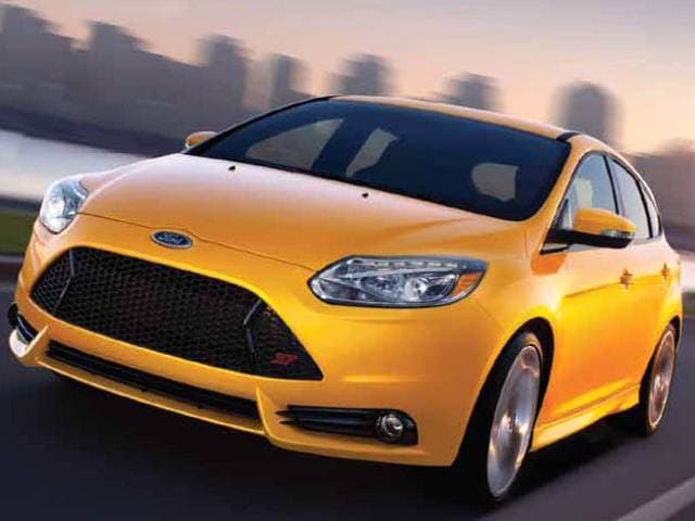 Most Popular Hatchbacks of 2014 - 2014 Ford Focus ST