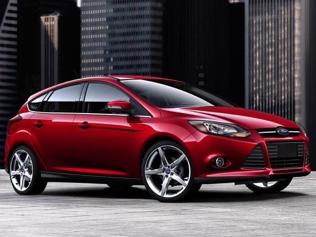Most Popular Hatchbacks of 2014 - 2014 Ford Focus