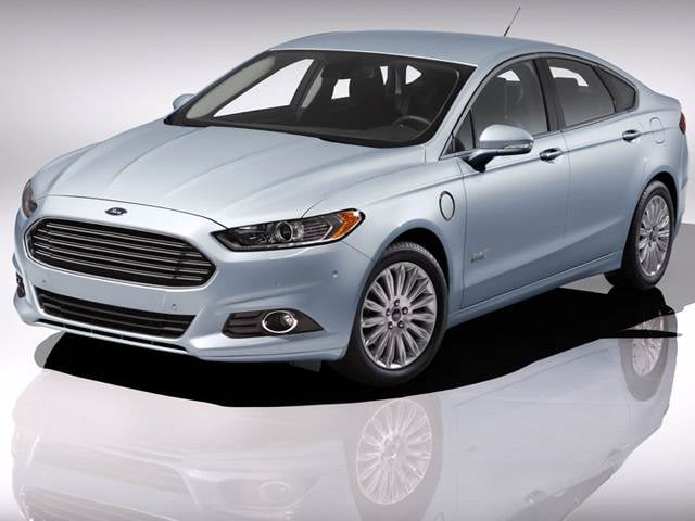 Top Consumer Rated Electric Cars of 2014 - 2014 Ford Fusion Energi