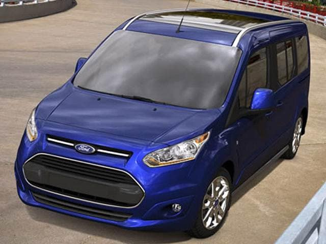 Most Fuel Efficient Van/Minivans of 2014 - 2014 Ford Transit Connect Passenger