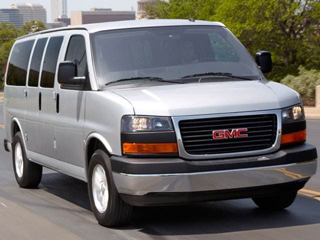 Highest Horsepower Van/Minivans of 2014 - 2014 GMC Savana 3500 Passenger