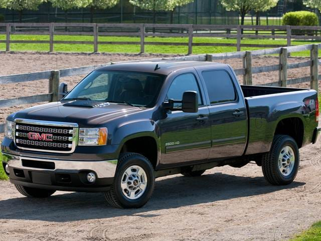 Highest Horsepower Trucks of 2014 - 2014 GMC Sierra 2500 HD Crew Cab