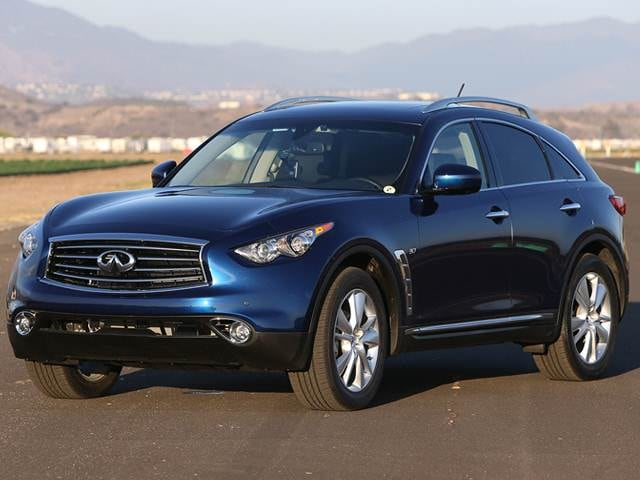 Highest Horsepower Crossovers of 2014 - 2014 INFINITI QX70