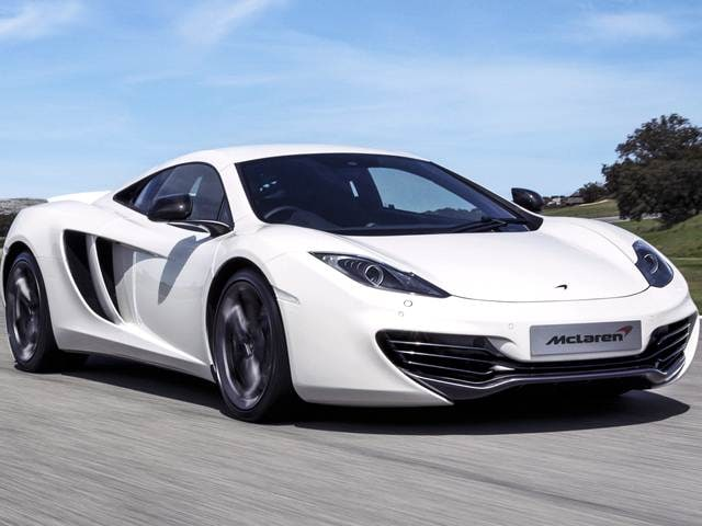 Top Consumer Rated Luxury Vehicles of 2014 - 2014 McLaren MP4-12C