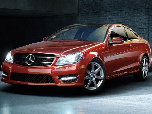 Most Popular Coupes of 2014 - 2014 Mercedes-Benz C-Class