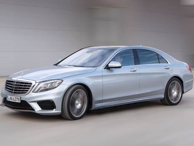 Highest Horsepower Sedans of 2014 - 2014 Mercedes-Benz S-Class