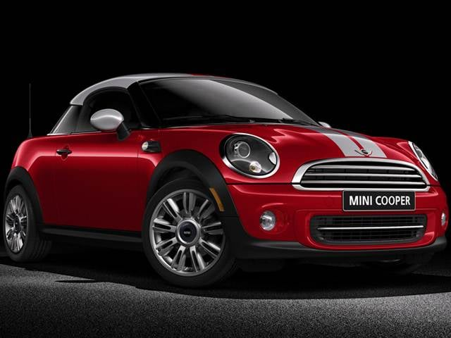 Most Fuel Efficient Coupes of 2014 - 2014 MINI Coupe
