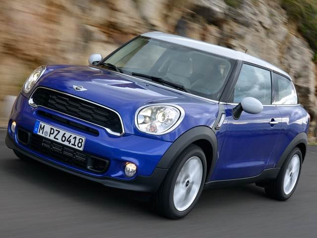 Most Fuel Efficient Crossovers of 2014 - 2014 MINI Paceman