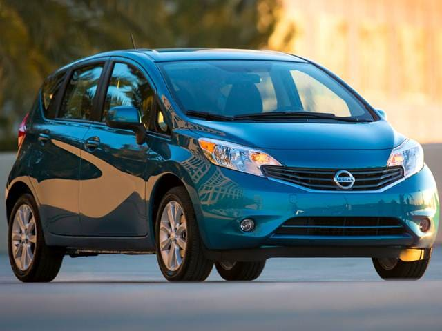 Most Popular Hatchbacks of 2014 - 2014 Nissan Versa