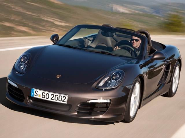 Top Consumer Rated Convertibles of 2014 - 2014 Porsche Boxster
