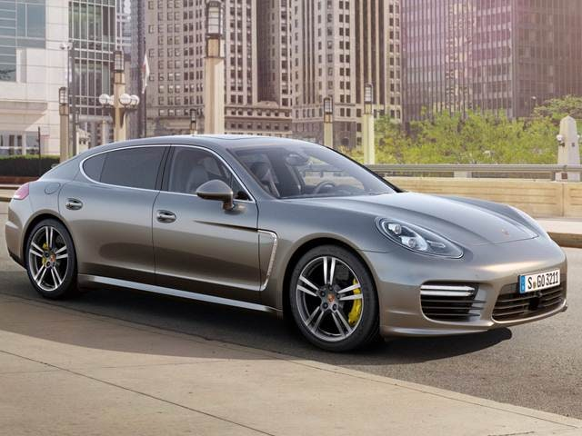 Highest Horsepower Sedans of 2014 - 2014 Porsche Panamera